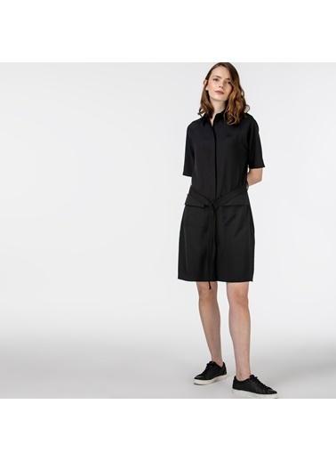 Lacoste Kadın Kısa Kollu Elbise EF0114.14S Siyah